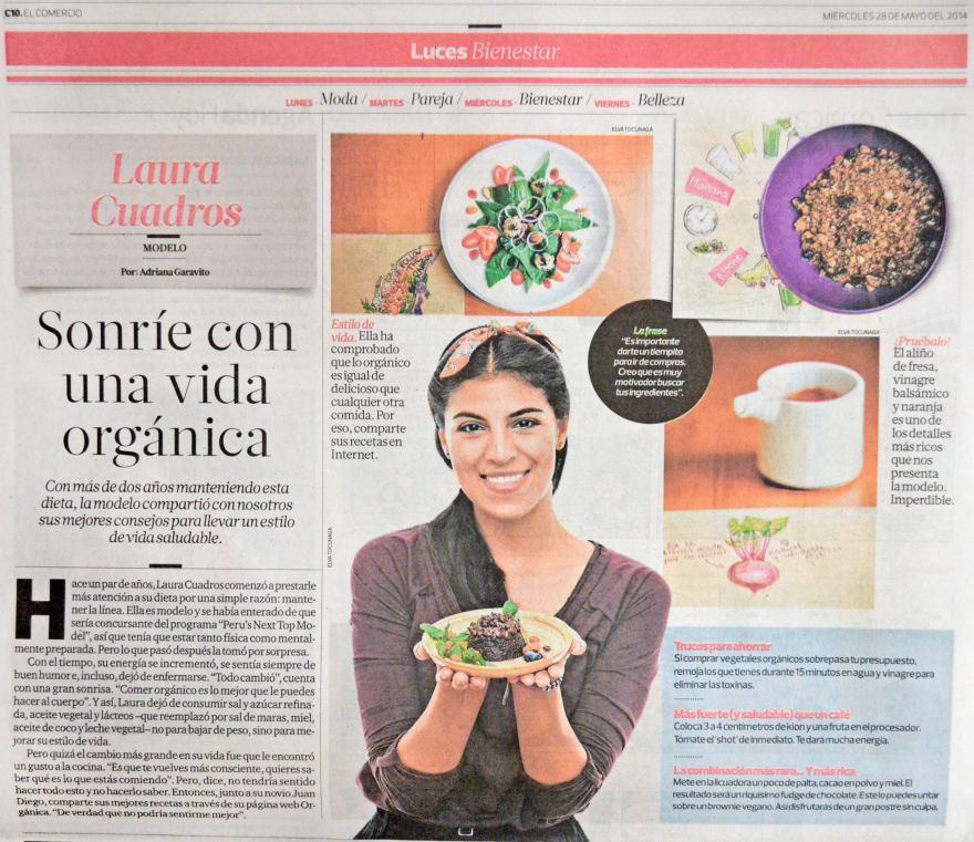 2014 EL COMERCIO - LUCES - ORGÁNICA